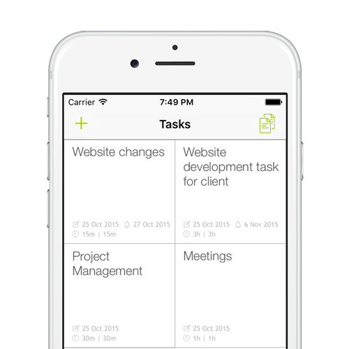 add as many tasks as you need